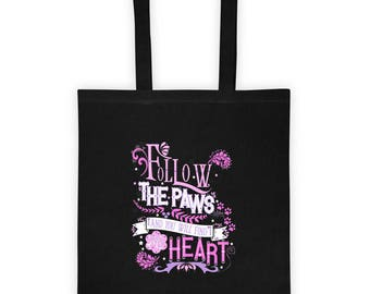 Follow the Paws Love of Pooches Tote bag