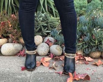 Conspicuous: Chain, Boot Bracelets
