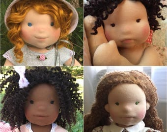 "CUSTOM 20"" WALDORF DOLL — *September 2017*- Introductory Price"