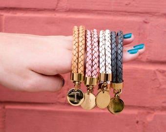 Heartstrings Braided Leather Bracelets