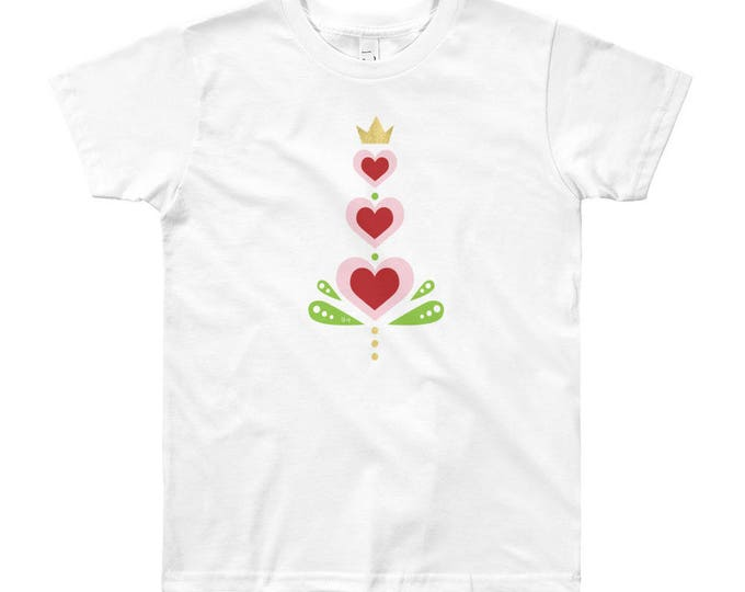Youth Heart Short Sleeve T-Shirt