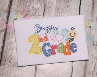 School Applique Design Embroidery