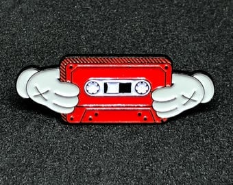 Kanye West 808s & Heartbreaks / Mixtapes Soft Enamel Pin