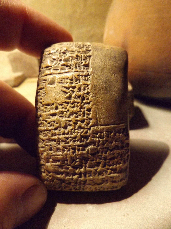 Sumerian / Babylon Cuneiform tablet - Ancient writing