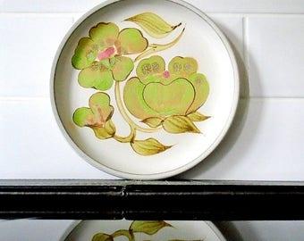 Vintage Denby Troubadour Salad / Dessert Plate 1970's