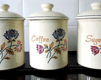 Boots Camargue Kitchen Storage Cannisters / Jars