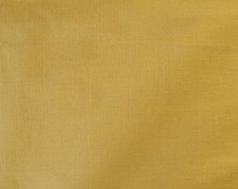 Fabric - Stretch needlecord -  mustard - woven fabric with stretch.