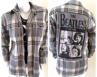 SOLD OUT The Beatles Flannel Shirt
