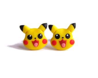Pikachu Earrings Etsy