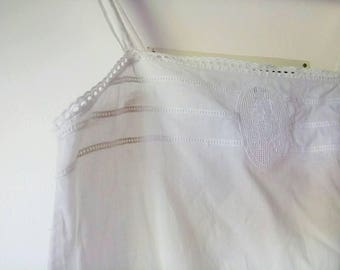 Vintage short cotton jumpsuite