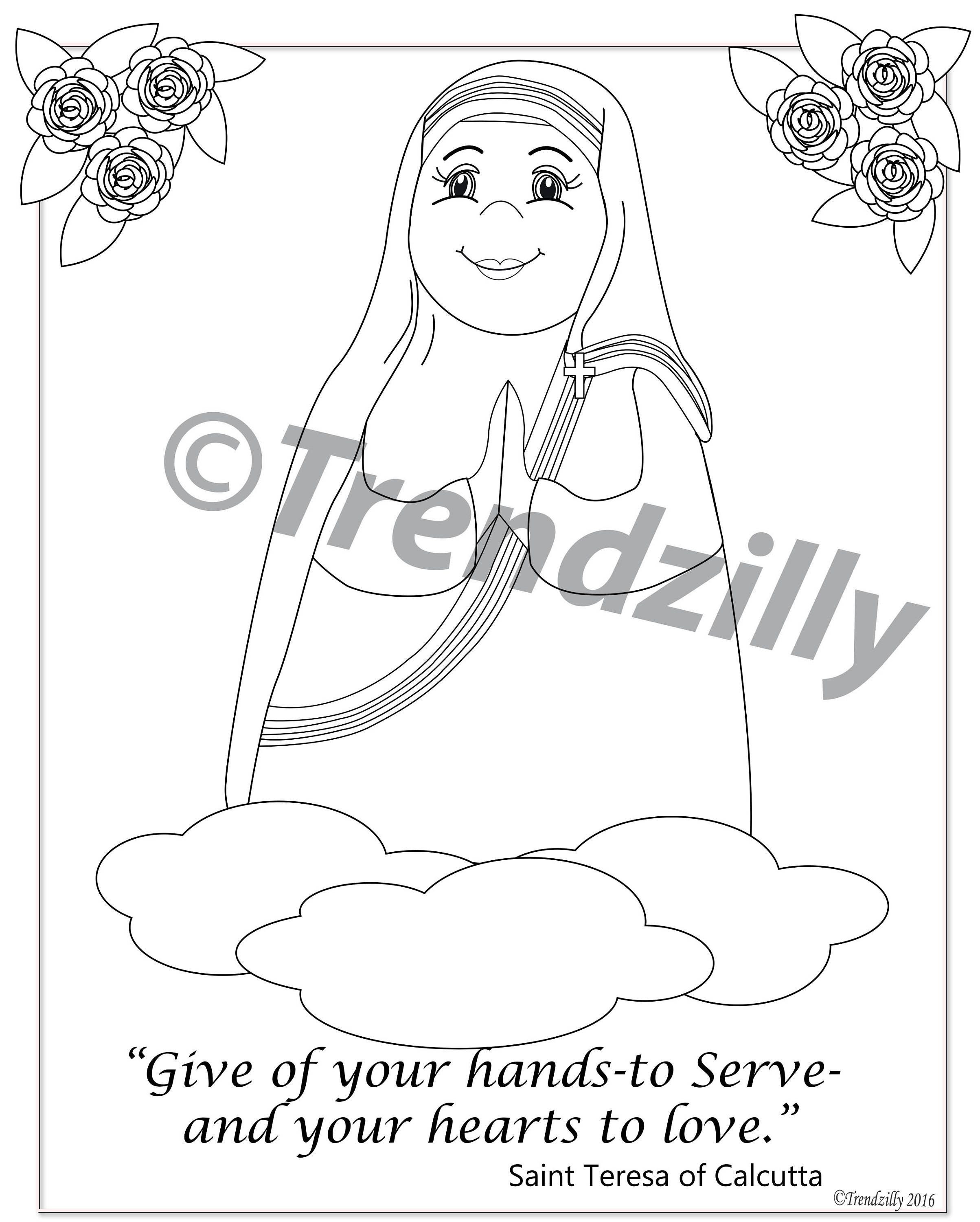 Coloring book download zip - Soft Saint Coloring Book Saint Coloring Book Kids Coloring Book Feast Day Coloring Pages Coloring Book Printable Download