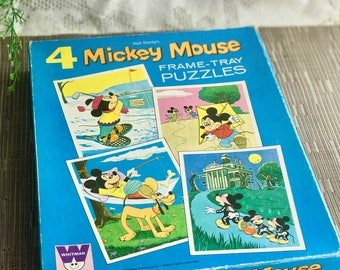 Vintage Mickey Mouse Puzzles