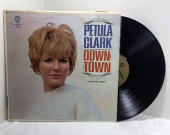 Petula Clark Downtown vinyl record 1965 Vocal Pop VG/VG+