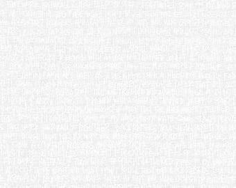 Architextures - Scribble Notes in White - Carolyn Friedlander - Robert Kaufman (AFR-13501-1)