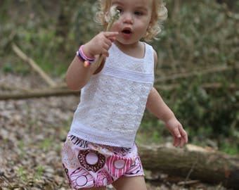 Donut Shop Girls Bloomers/Diaper Cover/Shorties/Shorts~Donuts~Doughnut~Birthday Outfit~Photo Shoot~Sizes 2T - 4T~ Matching~Ready to Ship