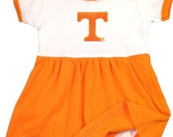 Tennessee Volunteer Baby Bodysuit Dress