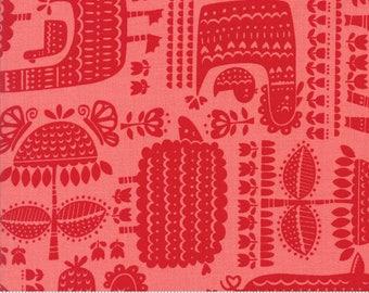 Farm Fun Yardage  by Stacy Ies Hsu for Moda Fabrics. 20532 21 Strawberry