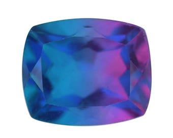 Candy Quartz Triplet Cushion Cut Loose Gemstone 1A Quality 12x10mm TGW 5.95 cts.