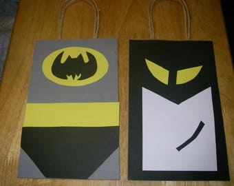 20 PC Batman Goody Gift Bags Party Favors Candy Treat Birthday Bags