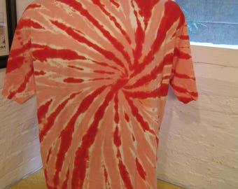 Size XL (48) ** Red Tye Dye Shirt (Deadstock Unworn)