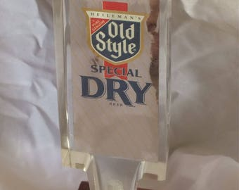 1970's Old Style Special Dry Acrylic Beer Tap
