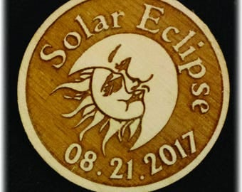 Solar Eclipse Magnet Keepsake