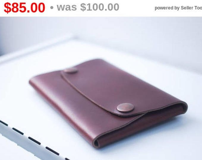 Horween Leather Travel Wallet/Passport holder/Horween Leather Travel Organizer/