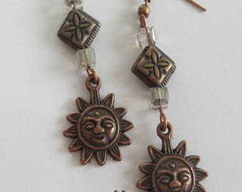 Oh sunshine, Sunshine by JosieCoccinelle earrings