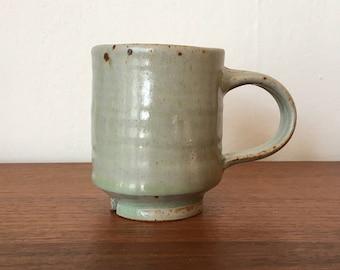 Studio Pottery Mug - Vintage Coffee Mug - Coffee Cup -Ceramic Coffee Mug - Ceramic Coffee Cup