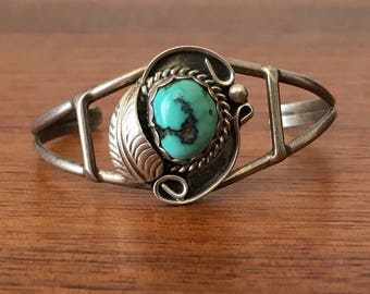 Baby Turquoise Cuff Bracelet Jewelry