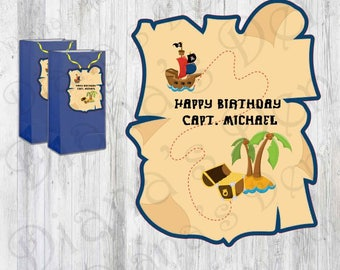 Pirate Birthday Tags/Pirate Birthday/Pirate Party/Birthday Tags/Tags/Pirate Tags/Boy Party/Girl Party