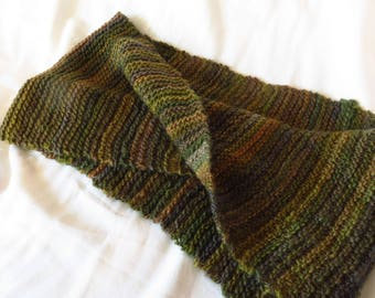 Fertile Ground - Handspun, handknit cowl