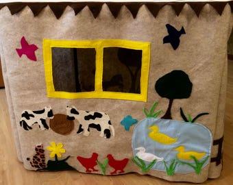 On the farm playhouse