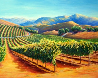 Original painting etsy for Paint and wine temecula