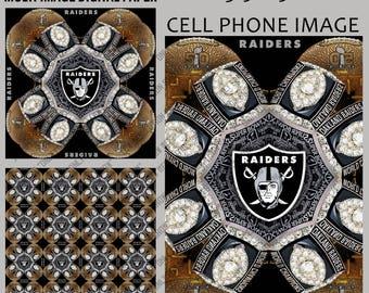 Raiders Kaleidoscope Image, 3 JPG's images 300 dpi. Regular Price 3.99