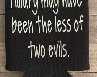 Hilary may have been less of the two evils can cozie