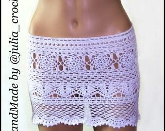 Crochet Beach skirt.