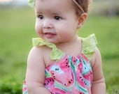 Watermelon Romper, Summer Bubble, Watermelon, Baby Girl Romper, Bubble Romper, Toddler Romper, Birthday Outfit, Summer Romper, Baby Gift