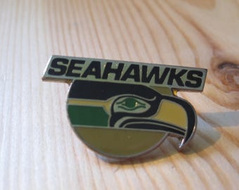 Vintage Seattle Seahawks 1984 NFL Football Lapel/ Hat Pin