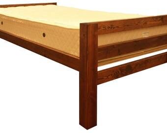 Platform Bed Frame [TRI] All Natural Solid Wood