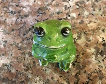 Small Ceramic Frog . . .