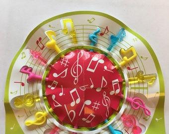 Musical Notes Decorative Picks