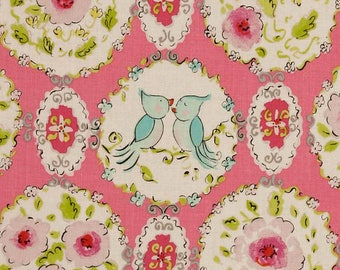 London Collection Pink by Dena Designs OOP HTF Designer Cotton Fabric