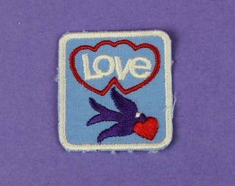 Love Vintage 1970s NOS Patch