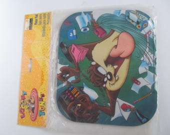Mouse Pad - TAZ  mouse  Pad - Looney Tunes Collectable -
