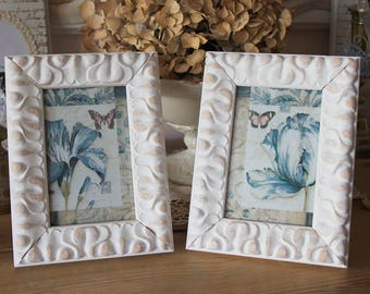 "Romantic distressed frame - ""sentimental"" - rustic and shabby"