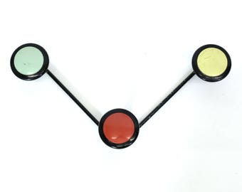Vintage coat rack from the 1960's-1970's.