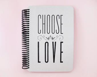 Typo Gray 1 Notebook