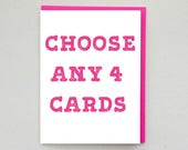 Papermain Greeting Card Set, Card Pack, Bulk Cards, Mix and Match Cards, Greeting Cards