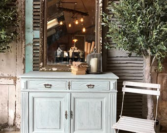 Rustic vintage French cabinet / cupboard
